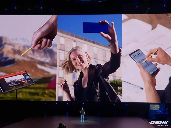 Samsung ra mắt Galaxy Note9: Bút S-Pen mới, pin 4000mAh, dung lượng 512GB, camera AI - Ảnh 5.