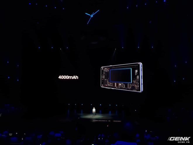 Samsung ra mắt Galaxy Note9: Bút S-Pen mới, pin 4000mAh, dung lượng 512GB, camera AI - Ảnh 2.