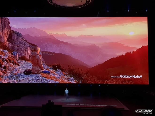Samsung ra mắt Galaxy Note9: Bút S-Pen mới, pin 4000mAh, dung lượng 512GB, camera AI - Ảnh 10.