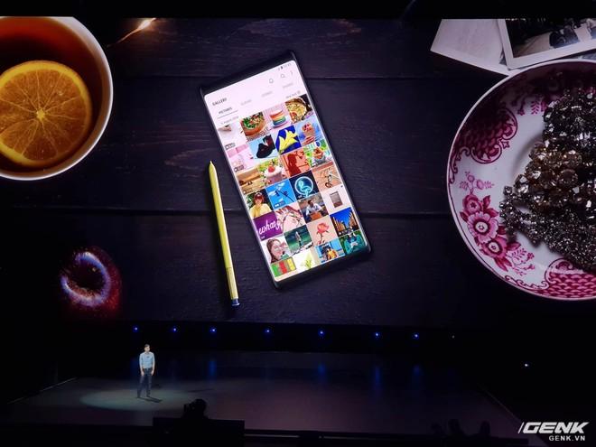 Samsung ra mắt Galaxy Note9: Bút S-Pen mới, pin 4000mAh, dung lượng 512GB, camera AI - Ảnh 11.