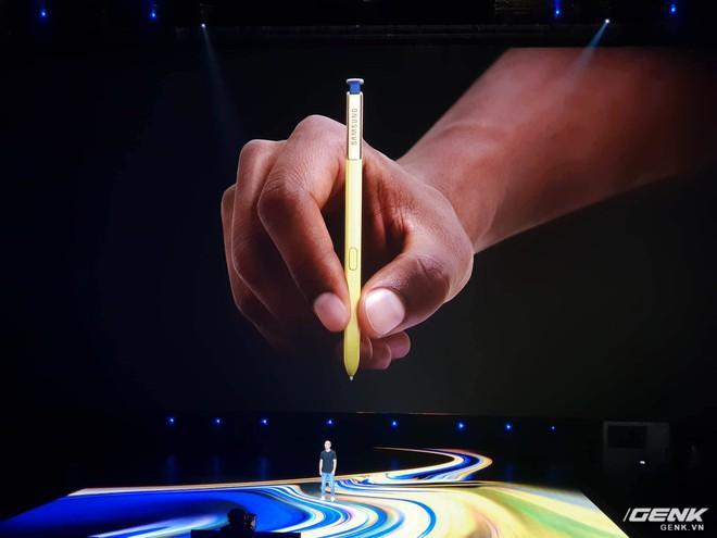 Samsung ra mắt Galaxy Note9: Bút S-Pen mới, pin 4000mAh, dung lượng 512GB, camera AI - Ảnh 7.