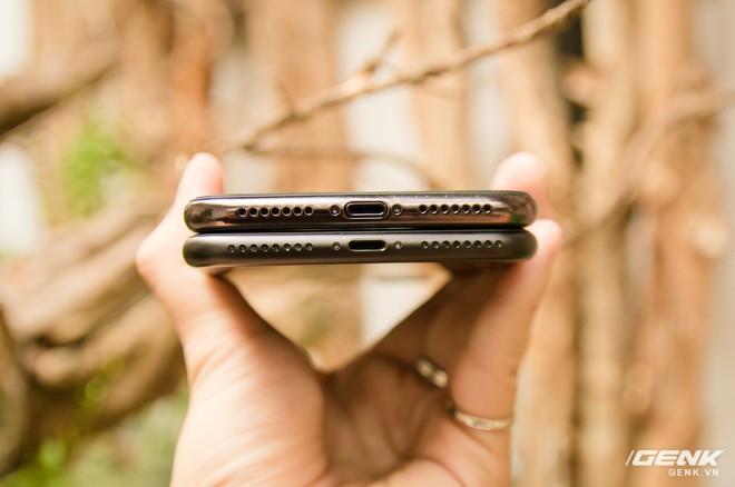 So sánh kích thước iPhone X Plus và iPhone 7 Plus: To bằng nhau, nhưng màn hình iPhone X Plus lớn hơn nhiều - Ảnh 8.