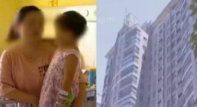 Ngã xuống đất từ tầng 17, bé gái 2 tuổi đứng dậy đi vào nhà như chưa có gì xảy ra - Ảnh 2.