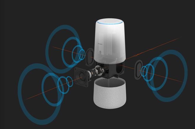 [IFA 2018] Huawei ra mắt loa thông minh AI Cube: loa 360 độ, tích hợp Alexa, có thể biến thành router Wi-Fi - Ảnh 3.