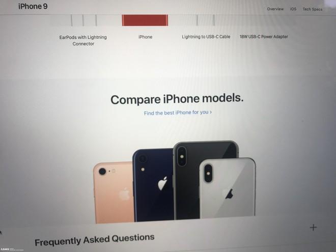 Trang giới thiệu iPhone 9 bị rò rỉ: thêm 2 màu mới là Spicy Orange và Cobalt Blue, dùng cáp USB C sang Lightning và có hỗ trợ sạc nhanh - Ảnh 2.