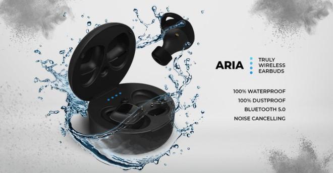 """Đây là ARIA: Tai nghe True-Wireless """"đỉnh của đỉnh"""" với pin 32 tiếng, chống nước hoàn toàn, Bluetooth 5, thiết kế chống ồn mà giá chỉ từ 2.5 triệu đồng - Ảnh 1."""