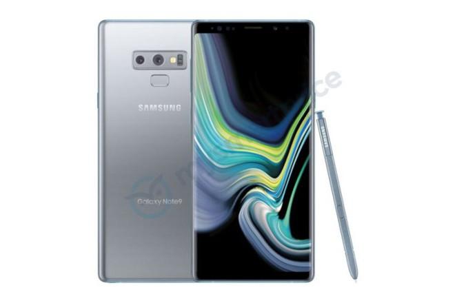Samsung đang chuẩn bị ra mắt một phiên bản Galaxy Note 9 màu bạc - Ảnh 1.