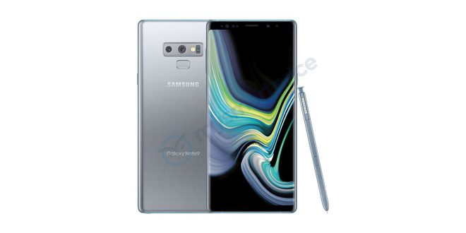 Lộ diện phiên bản Galaxy Note 9 màu bạc - Ảnh 2.