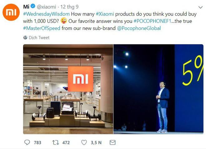 """Có 1000 USD bạn sẽ làm gì? Xiaomi gợi ý bạn """"quất"""" hẳn 3 chiếc Pocophone F1 - Ảnh 2."""