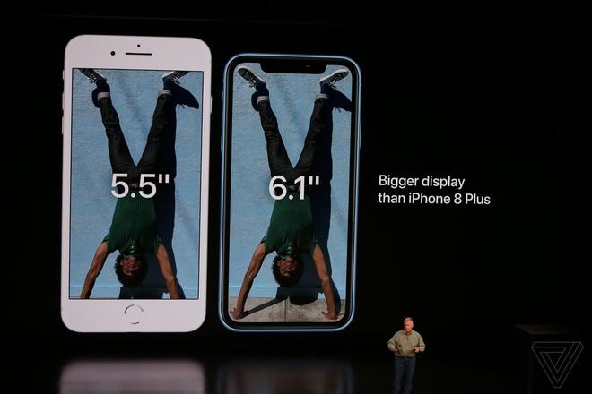 iPhone Xr chính thức ra mắt: Nhiều trang bị giống hệt iPhone Xs, cũng có Face ID, sặc sỡ hơn, giá 749 USD - Ảnh 4.