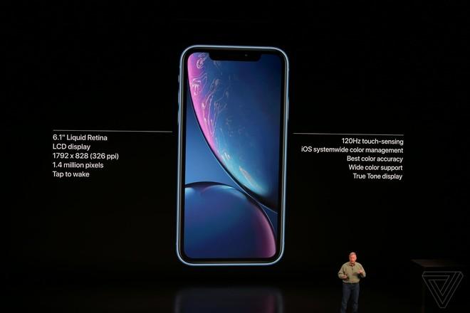 iPhone Xr chính thức ra mắt: Nhiều trang bị giống hệt iPhone Xs, cũng có Face ID, sặc sỡ hơn, giá 749 USD - Ảnh 3.
