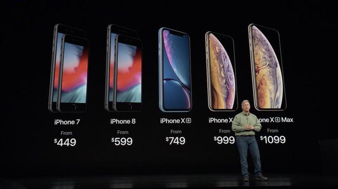 Ra mắt iPhone 2018 rẻ nhất gần 18 triệu, đắt nhất gần 34 triệu nhưng Tim Cook lại nói muốn phục vụ tất cả mọi người. - Ảnh 1.