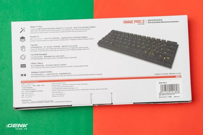 Đánh giá bàn phím cơ không dây Anne Pro II: Lùi một bước, tiến hai bước - Ảnh 4.