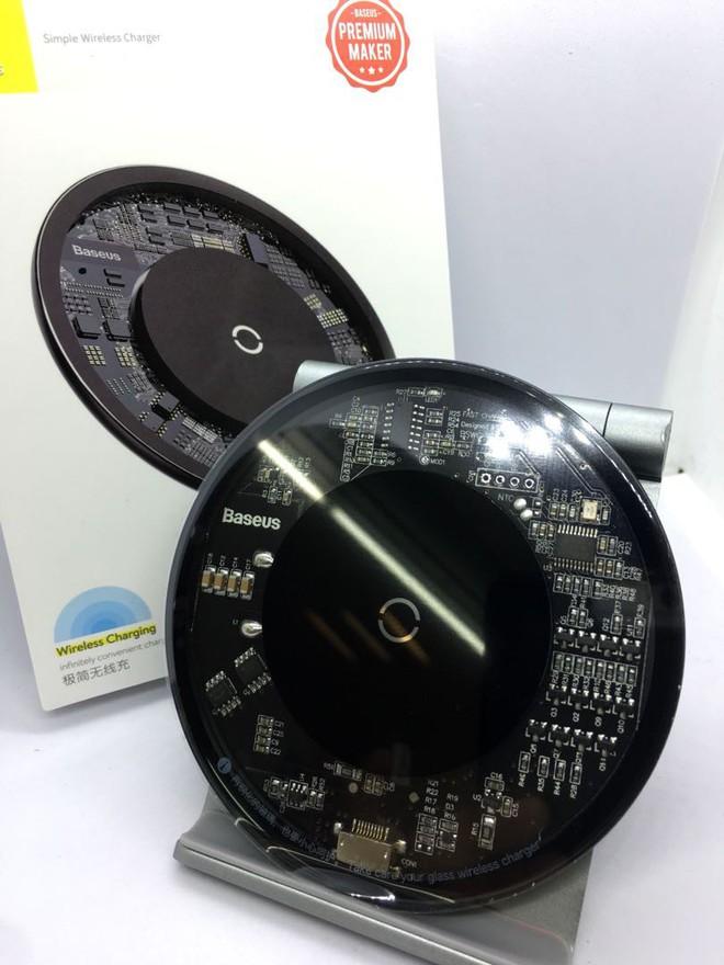 Trải nghiệm sạc không dây Baseus Simple Wireless Charger giá 390.000 đồng: Khi nước sơn thì tốt mà gỗ lại quá dở! - Ảnh 6.