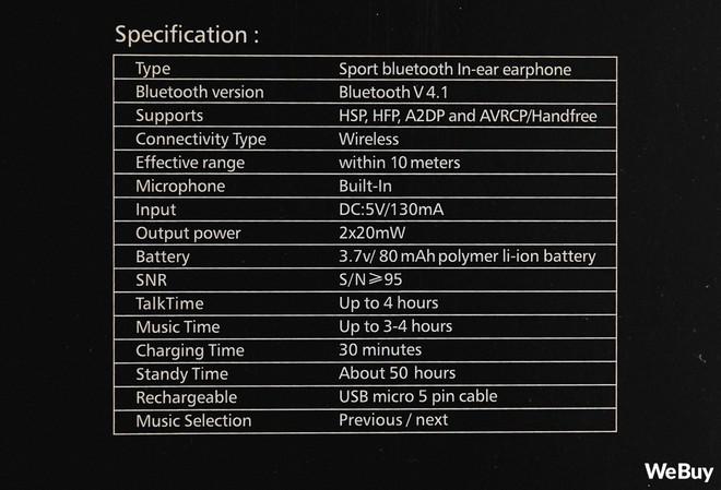 """Trải nghiệm tai nghe Bluetooth """"Sporty Pod"""" đang được giảm giá mạnh từ 150 nghìn còn 60 nghìn đồng - Ảnh 5."""