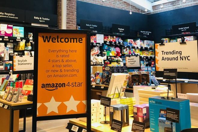Amazon mở cửa hàng bán lẻ 4 sao đầu tiên, chỉ bán những sản phẩm tốt nhất - Ảnh 1.