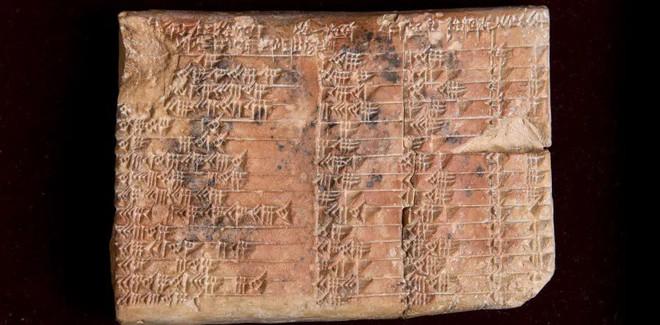 Giải mã phiến đất sét tiết lộ hiểu biết phi thường của người Babylon - Ảnh 1.
