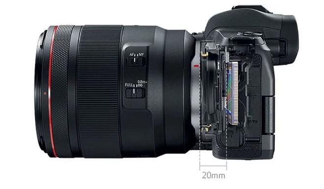 Canon ra mắt máy ảnh không gương lật Full-frame đầu tiên mang tên EOS R: 30MP, 5655 điểm lấy nét, quay phim 4K - Ảnh 4.
