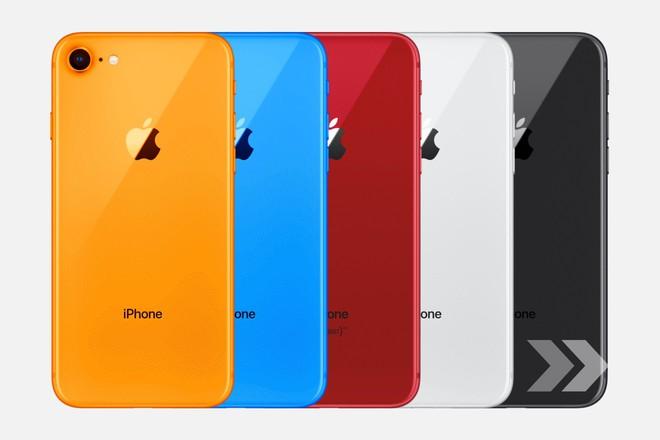 Ảnh rò rỉ tiết lộ iPhone 9 sẽ 3 phiên bản màu là trắng, xanh biển và đỏ, có cả khay hỗ trợ 2 SIM - Ảnh 1.
