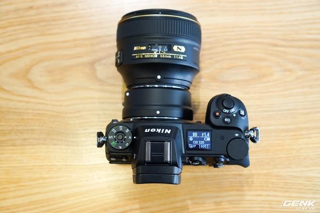 Trên tay nhanh hàng nóng Z7 - Chiếc máy ảnh không gương lật Full-frame đầu tiên của Nikon - Ảnh 16.