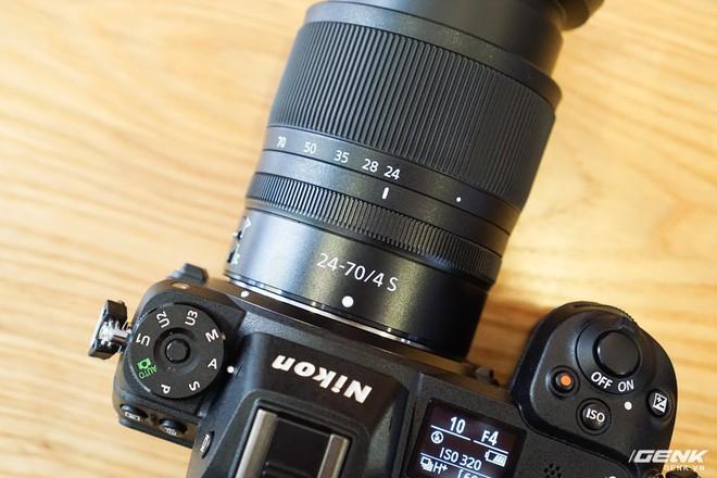 Trên tay nhanh hàng nóng Z7 - Chiếc máy ảnh không gương lật Full-frame đầu tiên của Nikon - Ảnh 15.