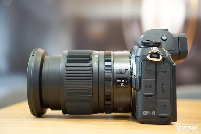 Trên tay nhanh hàng nóng Z7 - Chiếc máy ảnh không gương lật Full-frame đầu tiên của Nikon - Ảnh 8.