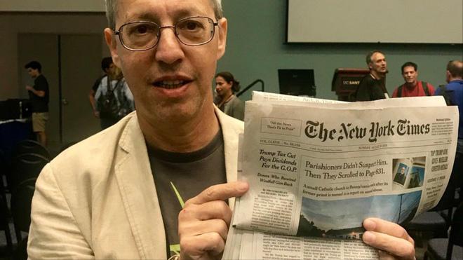 Blockchain cổ nhất trên thế giới từng ẩn náu trên tờ New York Times từ năm 1995 - Ảnh 1.