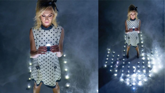 Buổi chụp hình ảo diệu sử dụng tới 100 đèn LED siêu nhỏ - Ảnh 11.