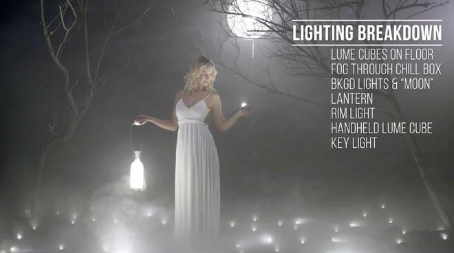 Buổi chụp hình ảo diệu sử dụng tới 100 đèn LED siêu nhỏ - Ảnh 8.