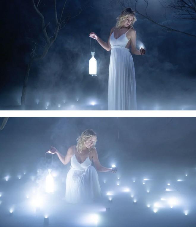 Buổi chụp hình ảo diệu sử dụng tới 100 đèn LED siêu nhỏ - Ảnh 9.