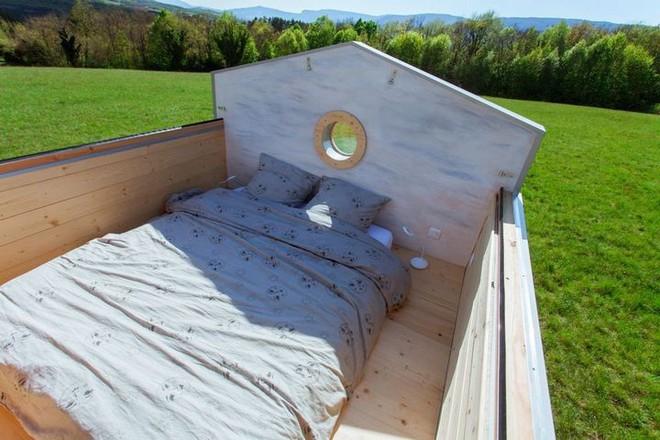 Thiết kế ngôi nhà độc đáo: Khi nóc nhà có thể mở toang và nằm giường ngủ để ngắm sao trời - Ảnh 14.