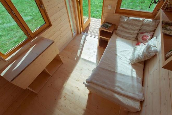 Thiết kế ngôi nhà độc đáo: Khi nóc nhà có thể mở toang và nằm giường ngủ để ngắm sao trời - Ảnh 11.