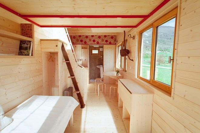 Thiết kế ngôi nhà độc đáo: Khi nóc nhà có thể mở toang và nằm giường ngủ để ngắm sao trời - Ảnh 7.