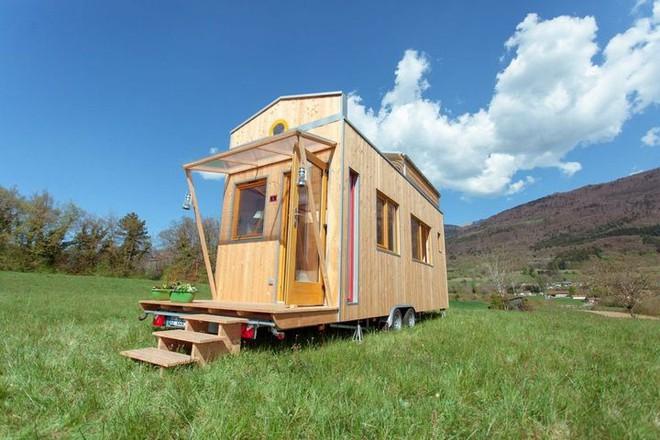 Thiết kế ngôi nhà độc đáo: Khi nóc nhà có thể mở toang và nằm giường ngủ để ngắm sao trời - Ảnh 16.