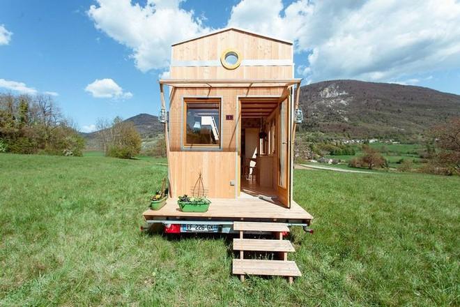 Thiết kế ngôi nhà độc đáo: Khi nóc nhà có thể mở toang và nằm giường ngủ để ngắm sao trời - Ảnh 17.