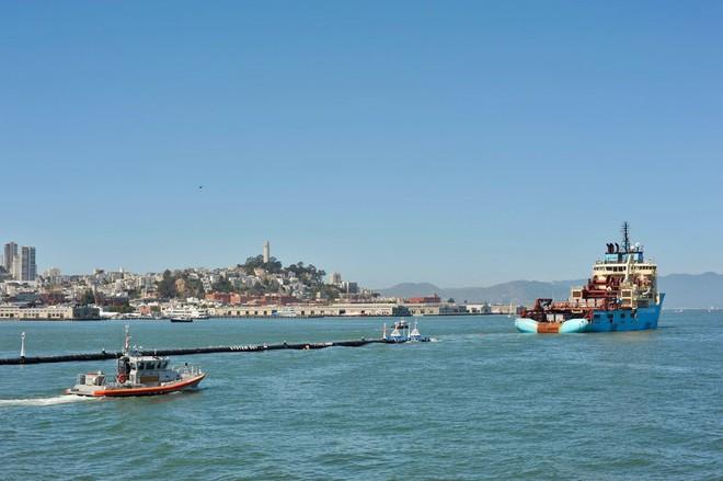 Hệ thống đầu tiên của dự án dọn rác biển The Ocean Cleanup đã chính thức ra khơi, đây là những hình ảnh về nó - Ảnh 22.