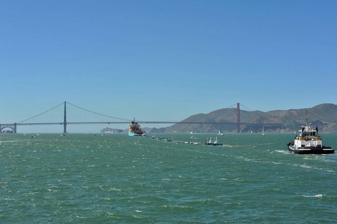 Hệ thống đầu tiên của dự án dọn rác biển The Ocean Cleanup đã chính thức ra khơi, đây là những hình ảnh về nó - Ảnh 38.