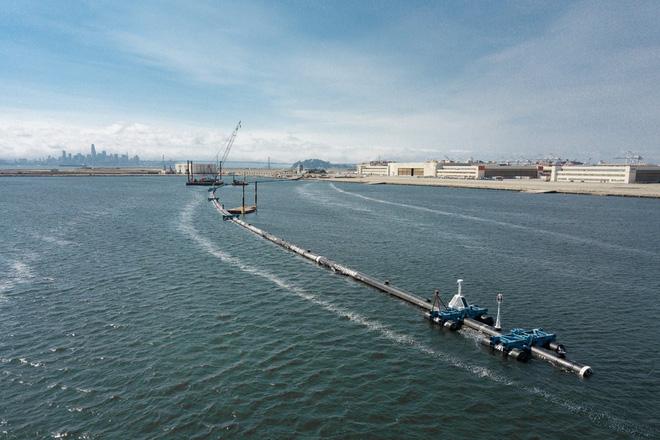 Hệ thống đầu tiên của dự án dọn rác biển The Ocean Cleanup đã chính thức ra khơi, đây là những hình ảnh về nó - Ảnh 18.
