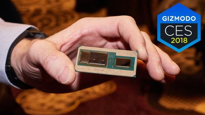 [CES 2018] Intel công bố chip dòng G, quả ngọt của dự án hợp tác với AMD, ra mắt máy tính NUC mới - Ảnh 2.
