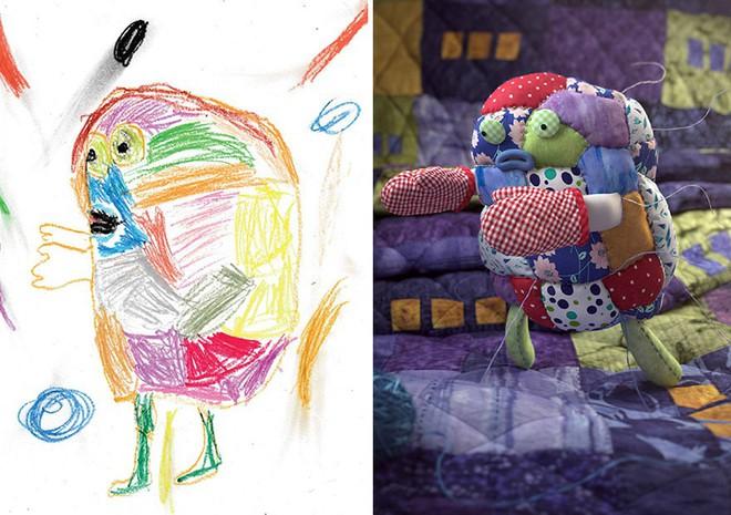 [Ảnh] Chiêm ngưỡng những tác phẩm độc đáo, kỳ lạ của trẻ em khi được chấp bút bởi họa sĩ chuyên nghiệp - Ảnh 8.