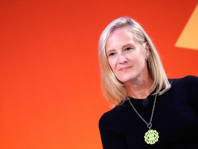 Bà Kristin Lemkau, giám đốc tiếp thị của JPMorgan Chase.