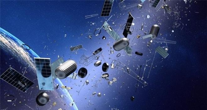 Trung Quốc đề xuất dùng tia laser dọn dẹp rác thải vũ trụ - Ảnh 1.