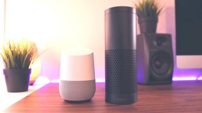 Amazon Echo và Google Home