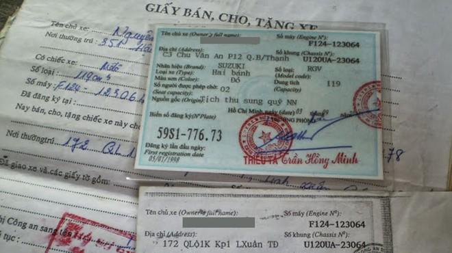 Những chiếc xe dù cũ đến đâu cũng nên có đầy đủ các giấy tờ sang nhượng theo đúng pháp luật.