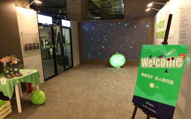 Nối gót Amazon Go, Wechat mở cửa hàng tiện lợi tự phục vụ đầu tiên ở Thượng Hải - Ảnh 2.