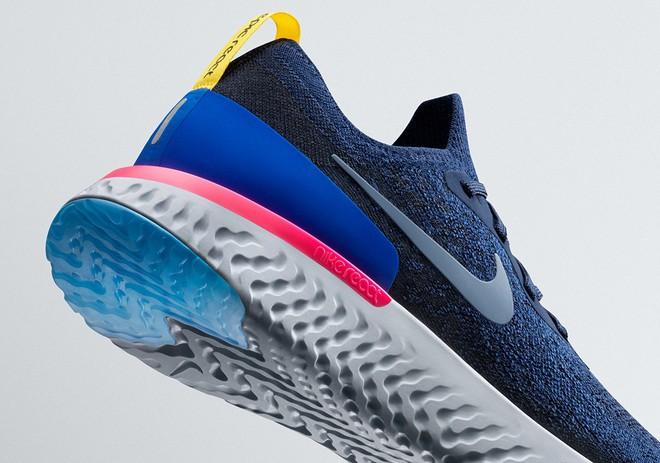 Nike tiếp tục cuộc đua công nghệ bằng bộ đệm tối ưu, tích hợp trên mẫu giày chạy Epic React FlyKnit - Ảnh 6.