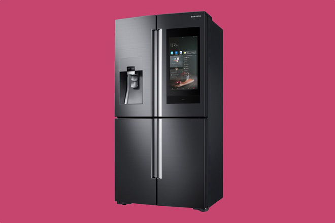 [CES 2018] Samsung giới thiệu mẫu tủ lạnh thông minh tích hợp loa AKG và trợ lý ảo Bixby - Ảnh 2.