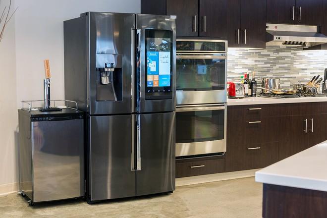 [CES 2018] Samsung giới thiệu mẫu tủ lạnh thông minh tích hợp loa AKG và trợ lý ảo Bixby - Ảnh 5.