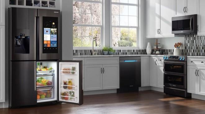 [CES 2018] Samsung giới thiệu mẫu tủ lạnh thông minh tích hợp loa AKG và trợ lý ảo Bixby - Ảnh 3.