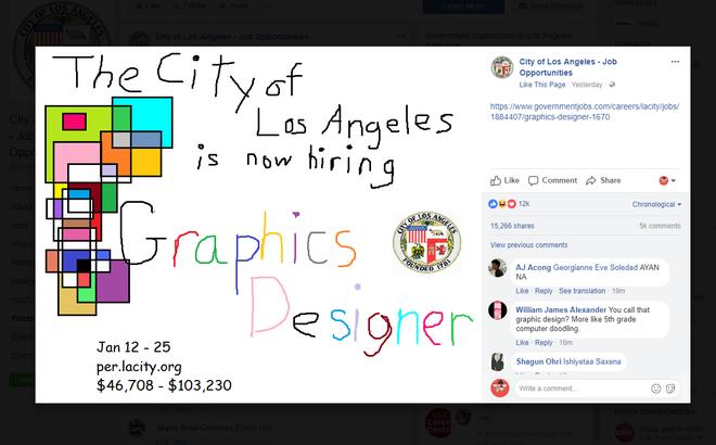 Vẽ bằng Paint lại dùng font Comic Sans, thông báo tuyển dụng graphic designer này có gì hay ho để được chia sẻ tới 15.000 lần? - Ảnh 1.